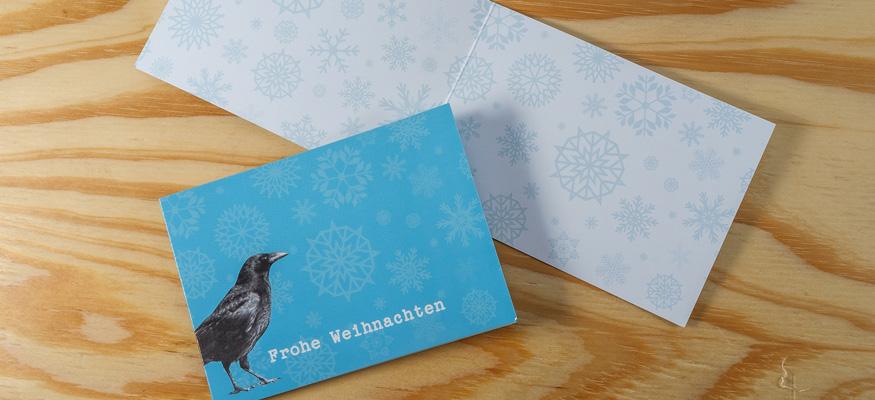 Kaffee-Weihnachtskarte