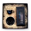 Geschenkpaket für Kaffeetrinker: ACME Espresso-Tasse & Espresso