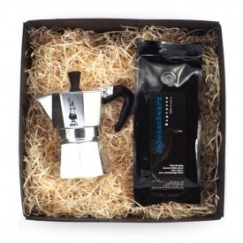 Geschenkpaket Espressokocher Bialetti