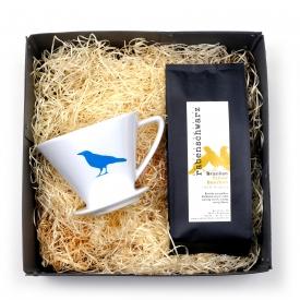Geschenkpaket Kaffee Filter Handfilter Cilio Grösse 4
