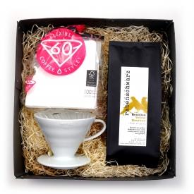 Geschenkpaket Kaffee Handfilter Hario v60 02