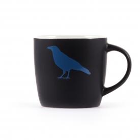 Kaffeebecher rabenschwarz
