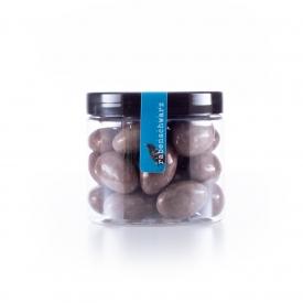 Latte Macchiato Mandeln rabenschwarz Süßigkeiten Kaffee
