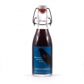 Rotwein-Kaffee Likör