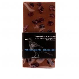 Schokolade Cranberries Caramel