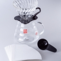 Hario Handfilter v60 Starterset Starterpaket Glas