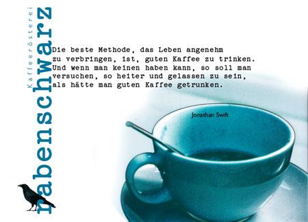 """einladung zur eröffnung am """"tag des kaffees"""" - 26.09.2008, Einladung"""