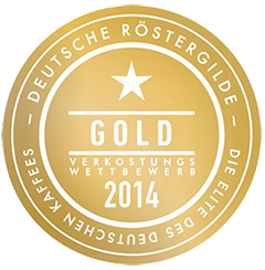 Gold-Medaille der Deutschen Röstergilde